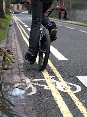 Cycle Lane FAIL.JPG