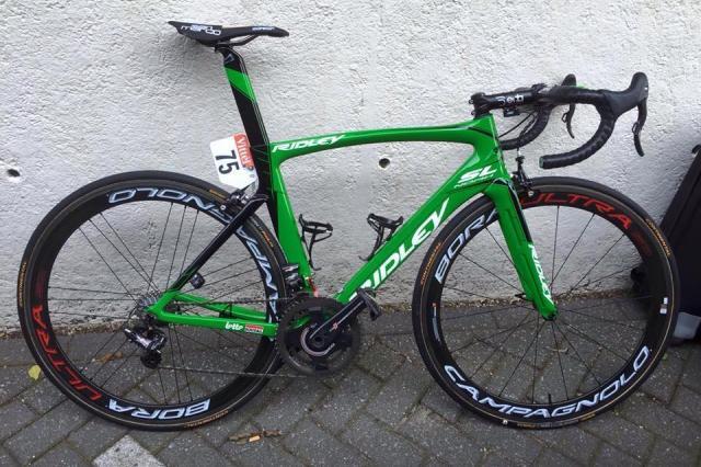 Tour de France 2015 Bikes: Andre Greipel's Ridley Noah SL ...