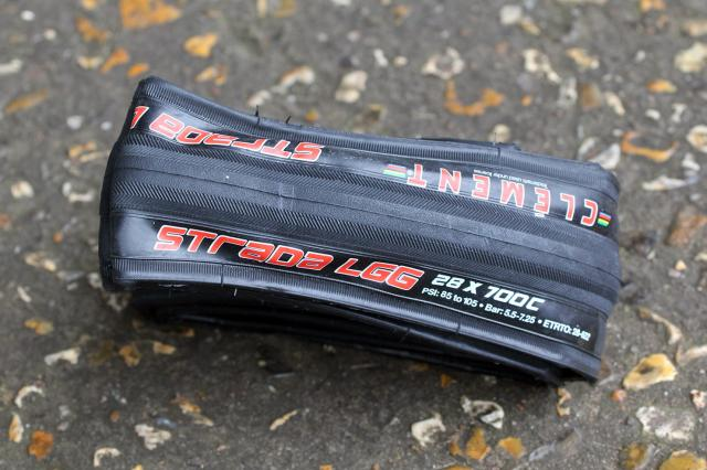 Clement Strada LLG tyres