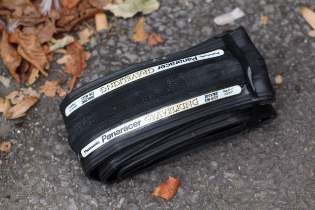 look for a tyre with a thick reinforced breaker belt sandwiched between the rubber tread and carcass this will help prevent flints and glass from