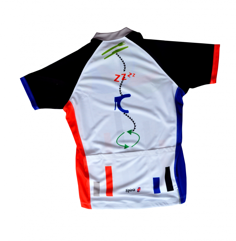Cycling shirt design your own - Next The Otherwise Subtle Mckenzie Has A Space Invaders Vibe Going On