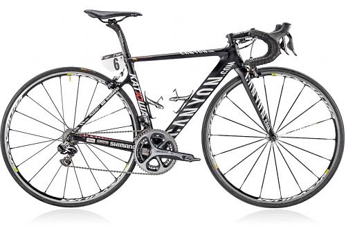 Canyon Sell Off Team Bikes