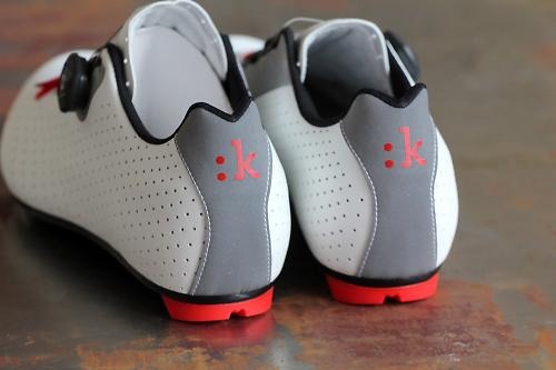 B Twin  Carbon Road Cycling Shoes White Red