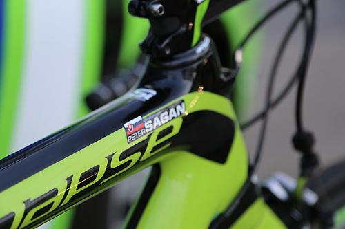 Worldtour bike peter sagans cannondale synapse for the spring classics