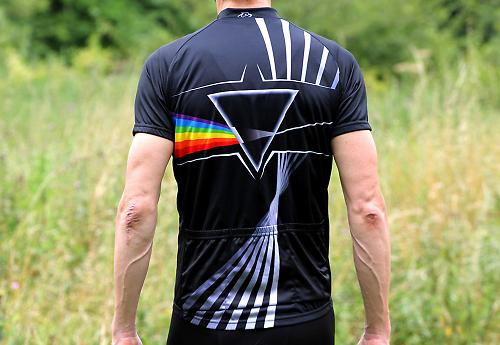 Primal Wear Pink Floyd Great Prism in the Sky Men/'s Full Zip Sport Cut Cycling J