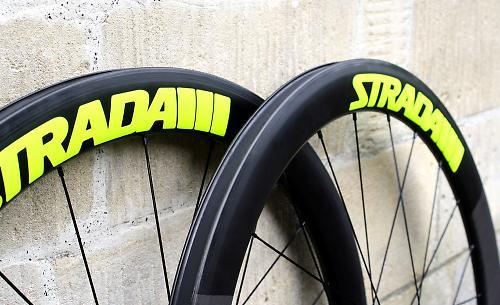 Just In Strada Rail 52 Carbon Clincher Wheels