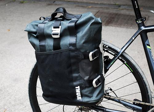 Review Thule Pack N Pedal Commuter Pannier Road Cc