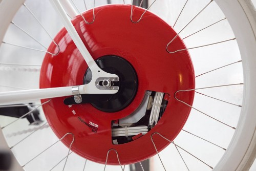 The Copenhagen Wheel The Electric Bike Meets The Iphone