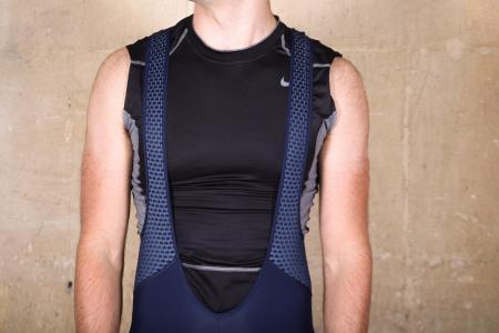 Cafe du Cycliste Marinette Marengo Slate bibshorts - straps front.jpg