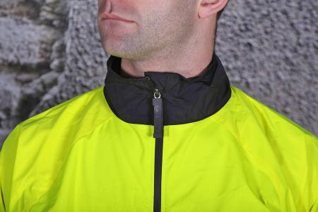Funkier Attack WJ-1327 Gents Waterproof Jacket - collar.jpg