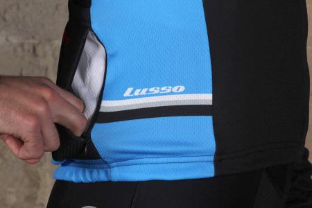 Lusso Trofeo Long Sleeved Jersey - side pocket