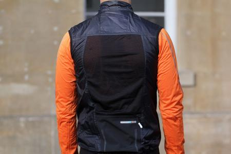 Madison Road Race Mens Windproof Shell Gilet - back.jpg