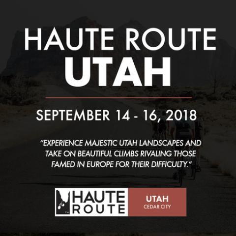 Haute Route Utah