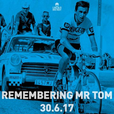 Tom Simpson event at Lincoln Bike Night