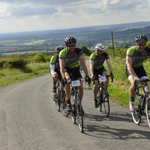 Earth Wind & Tyre is a 200-mile cycle challenge from Durham to Edinburgh