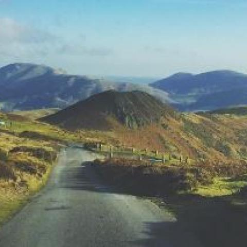 The Burway, Long Mynd.
