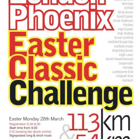 London Phoenix Easter Classic 112Km or 54km