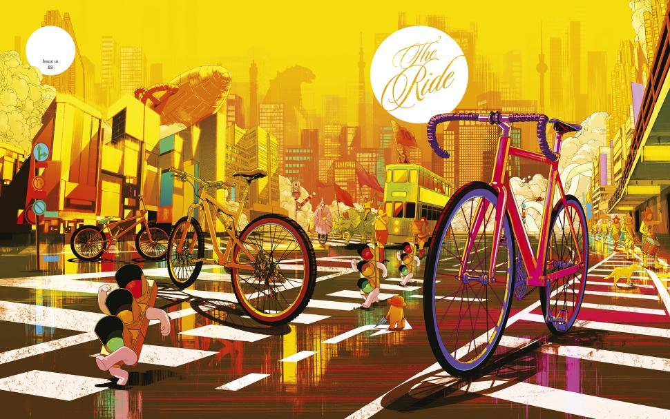 01 ride 10 full coverjpg - Bicycle Coloring Book
