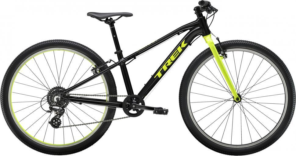 11a4b11f79b 2019 Trek Wahoo 26. Trek knows that adventurous kids will ride everywhere  no matter what a bike's ...