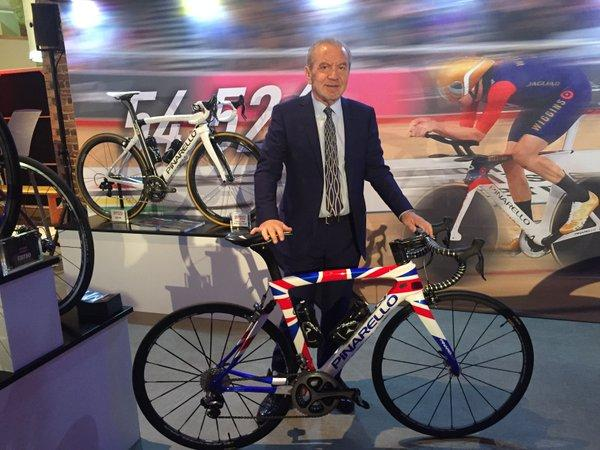 Alan Sugar with his custom Pinarello (image via Twitter).jpg