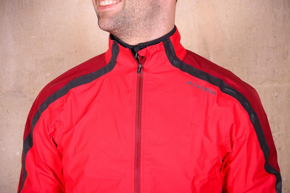 Altura Nightvision Waterproof Jacket Team Red - chest.jpg