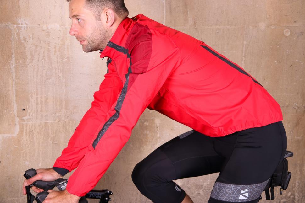 Altura Nightvision Waterproof Jacket Team Red - riding.jpg