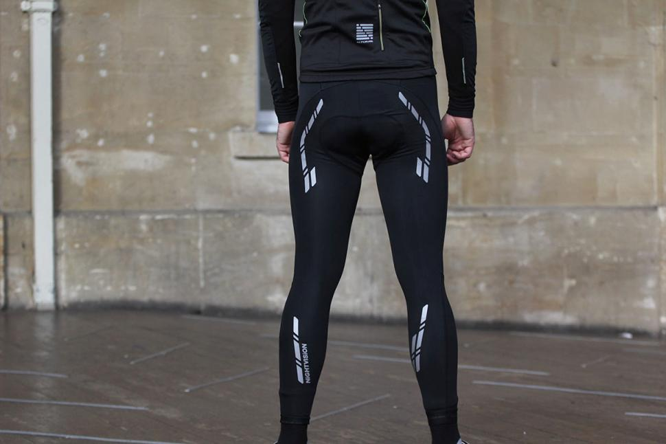Altura Peloton Night Vision Windproof Bib Tights - back.jpg
