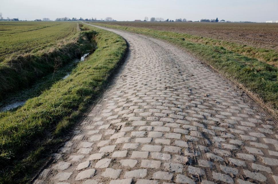 Van Avermaet beats Stybar in sprint to win Paris-Roubaix