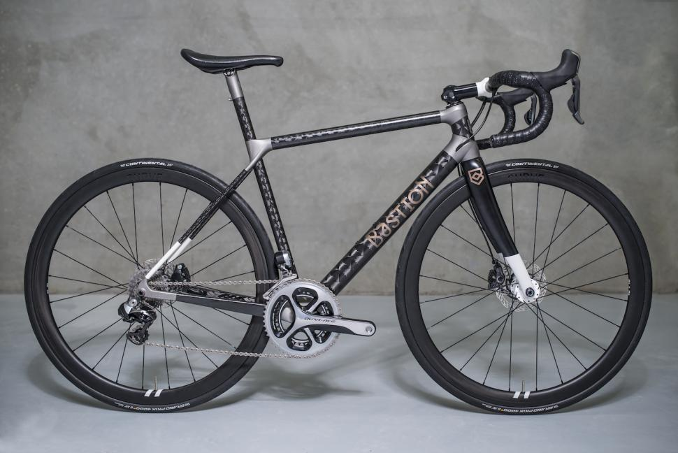 Bastion Launches 3d Printed Titanium And Carbon Fibre Road