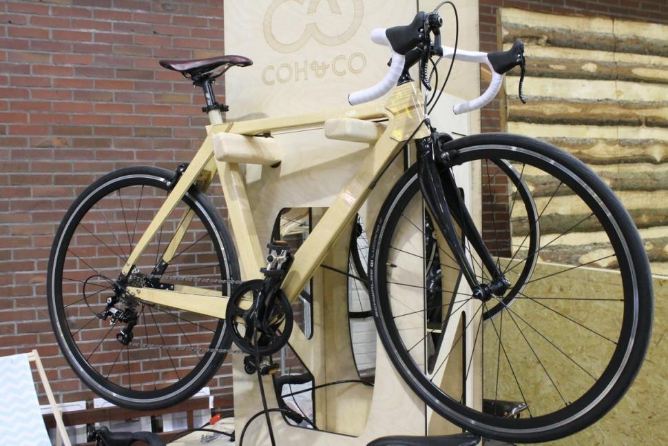 berlin bike show 2016 wooden 1jpg - Wooden Bike Frame