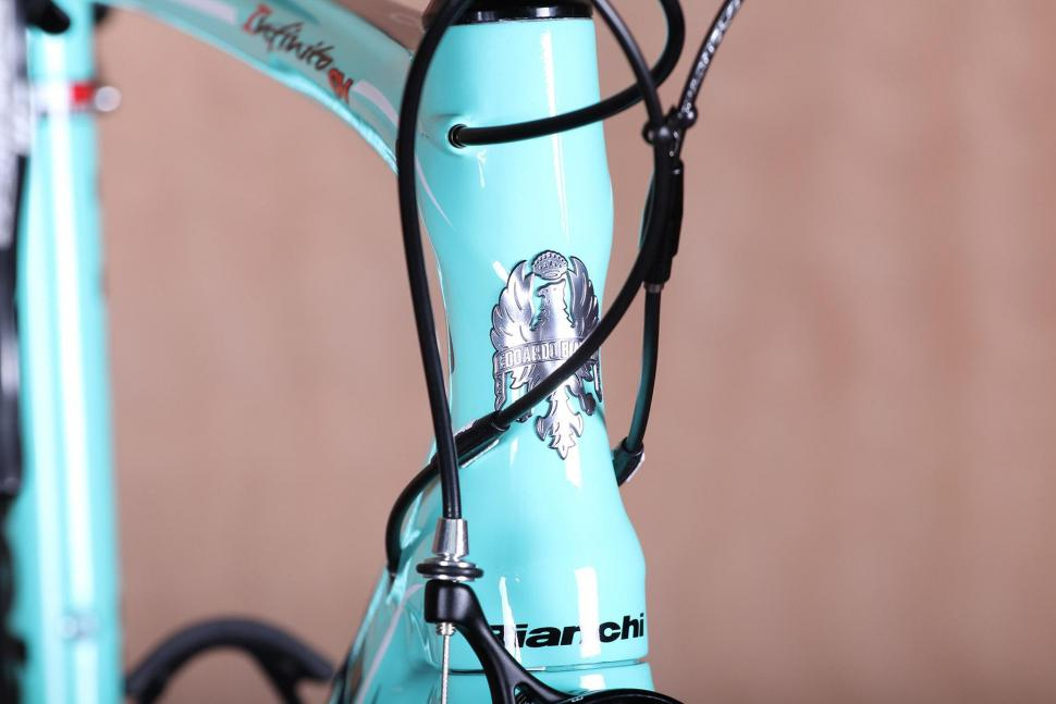 Bianchi headtube decal A Early choice