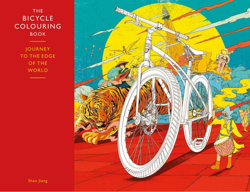 Bicycle Colouring Book Cover