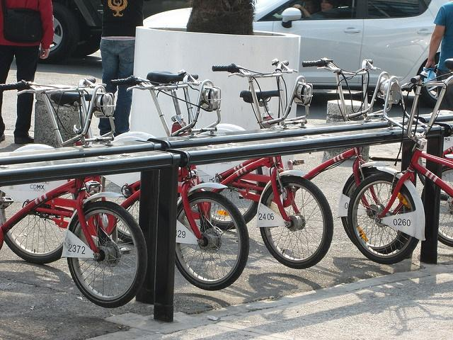 Bike share, Mexico City (CC licensed by Design for Health via Flickr).jpg