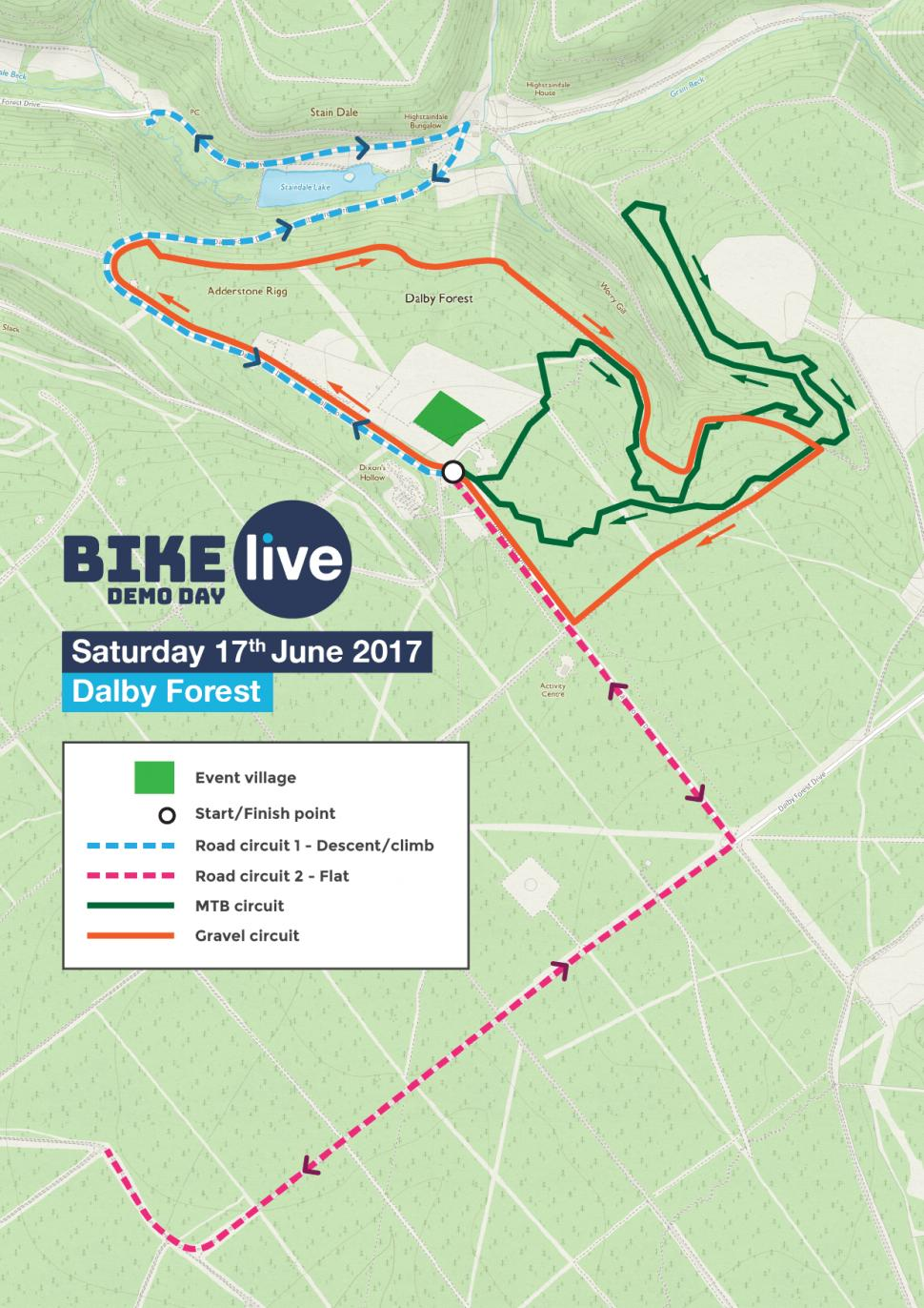 Bike LIVE Dalby Forest Check out the road gravel  mountain bike