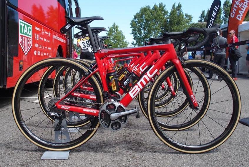Tour de France bikes 2017