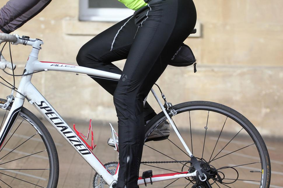 Bontrager Velocis Stormshell Bib Tight - riding.jpg