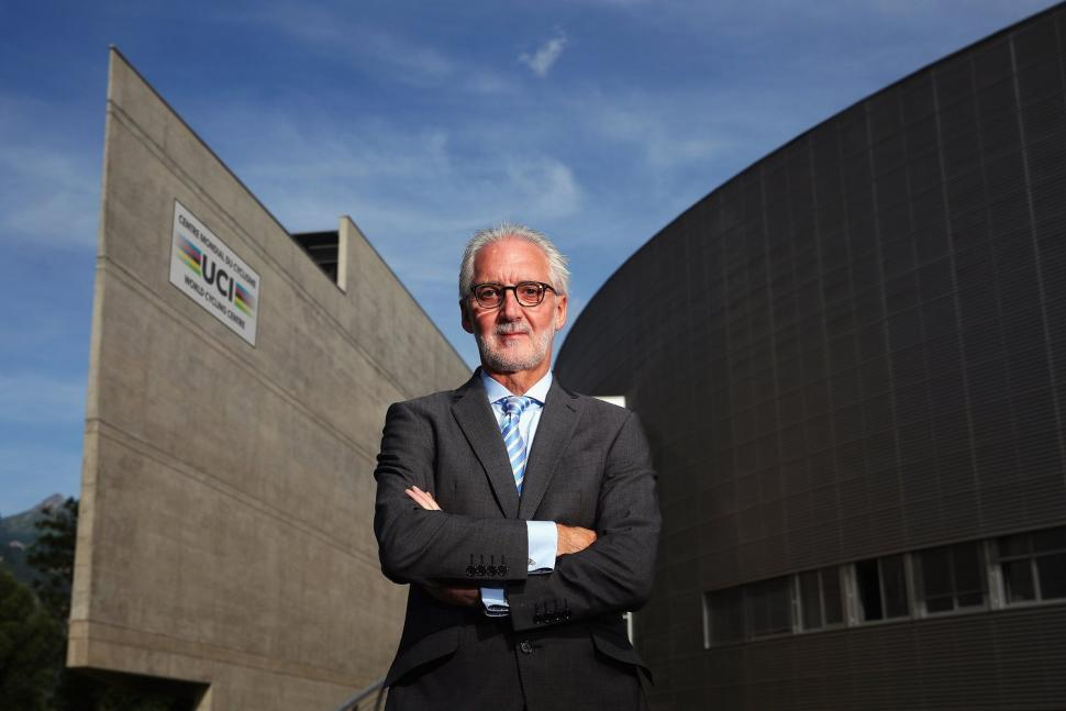 Thumbnail Credit (road.cc) (briancookson.org): Brian Cookson at the World Cycling Centre in Aigle (source Briancookson.org).jpg
