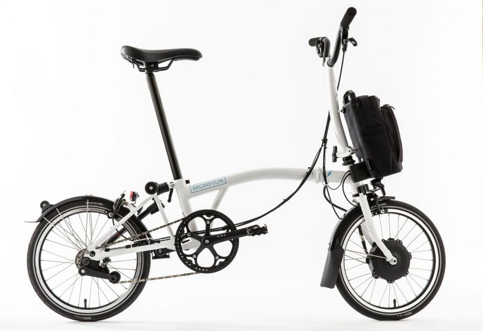 Brompton Launch Their First E Bike Road Cc
