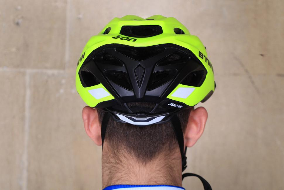 BTwin 500 Bike Helmet - back.jpg