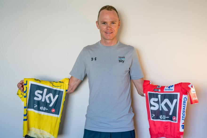 Thumbnail Credit (road.cc): Prestigious award follows historic Tour de France and Vuelta double for Team Sky rider