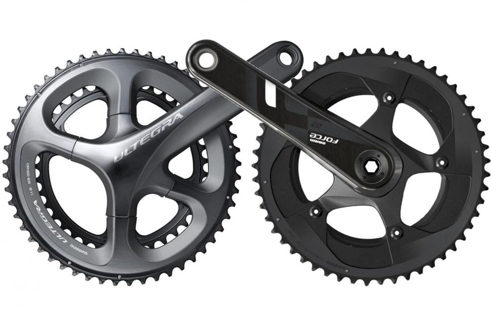 b65991d317f Head to head: Shimano Ultegra v SRAM Force | road.cc