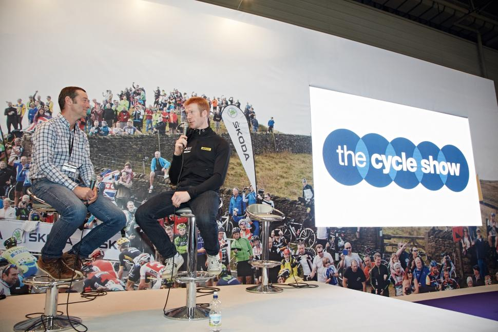 Cycle Show wattbike stage