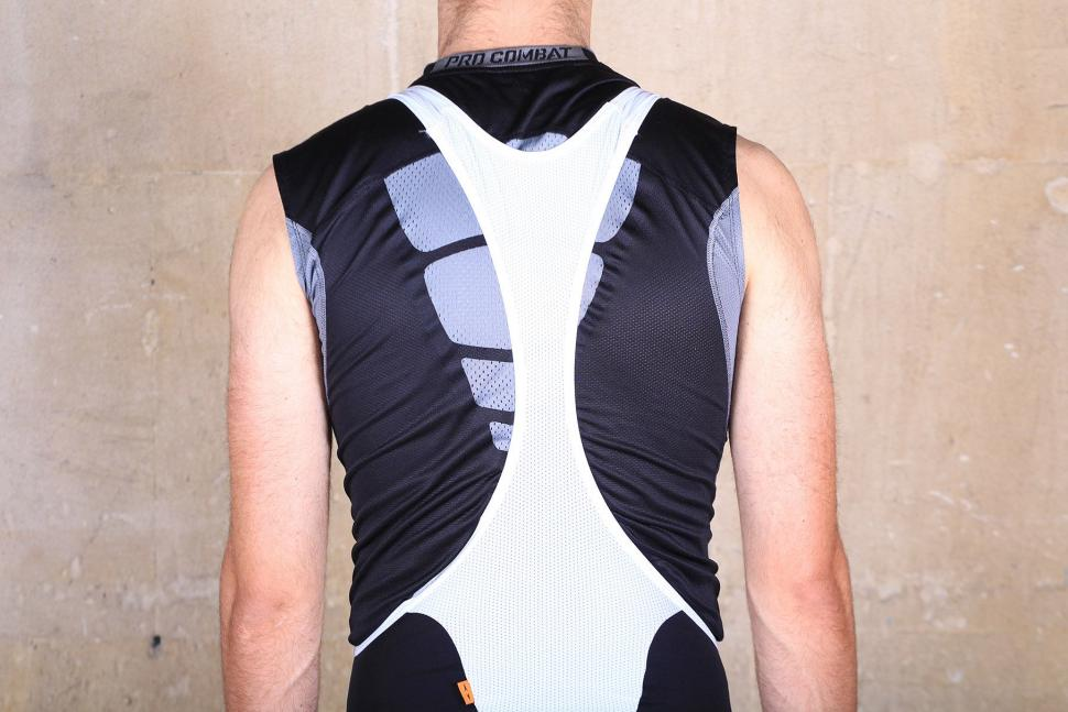 dhb Aeron Rain Defence Bib Shorts - straps back.jpg