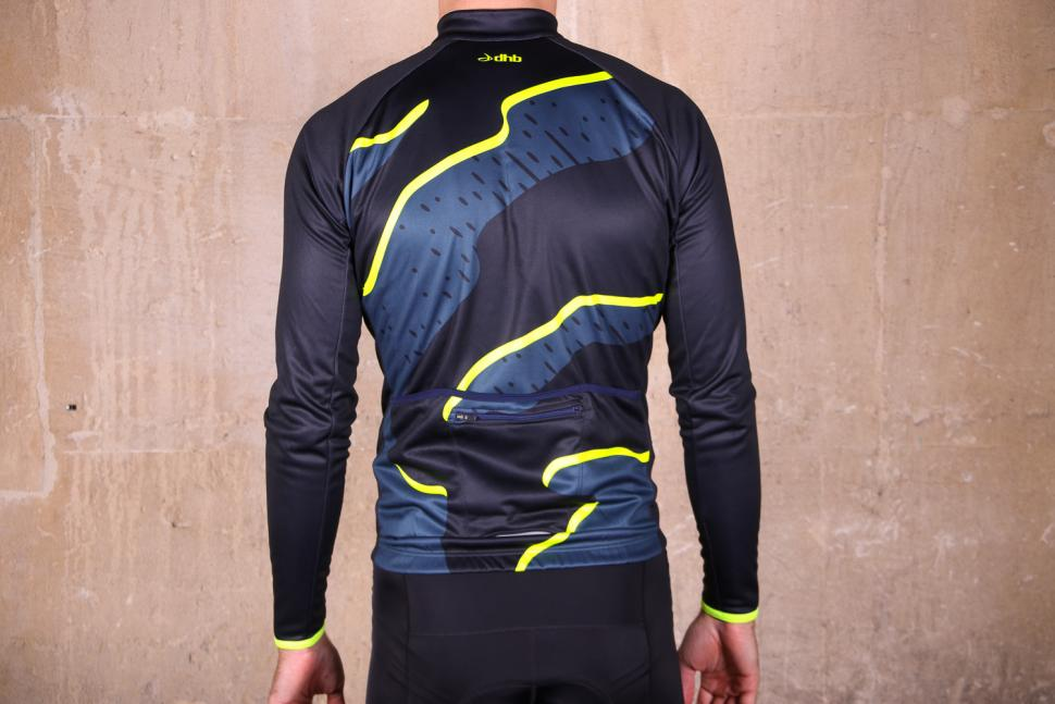 dhb Blok Thermal Long Sleeve Jersey - back.jpg