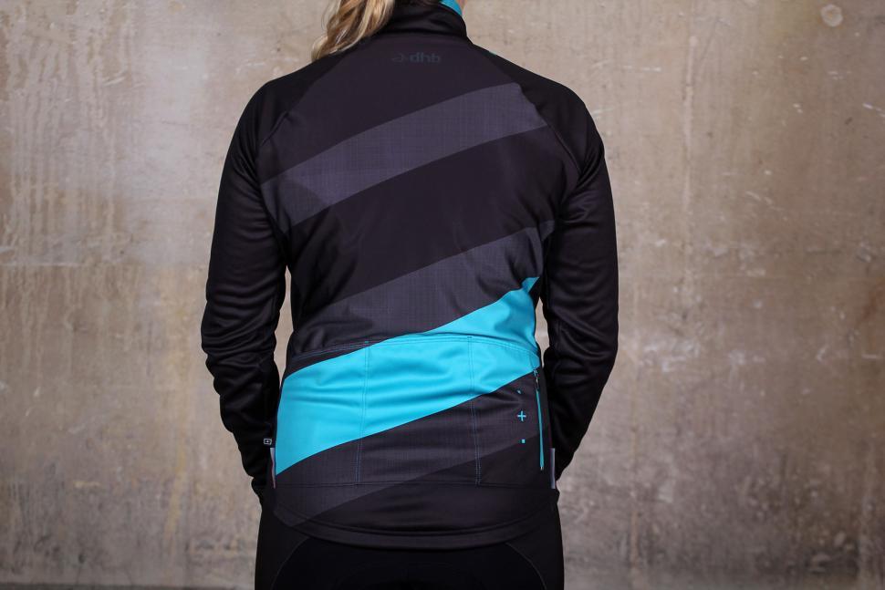 dhb Womens ASV Windslam Roubaix Long Sleeve Jersey - back.jpg