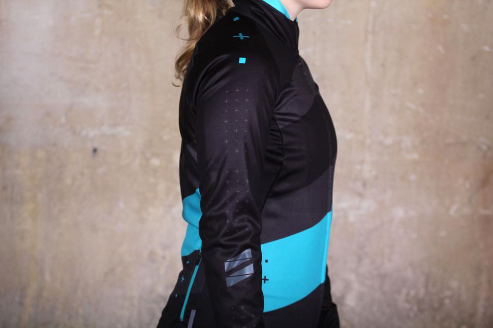 dhb Womens ASV Windslam Roubaix Long Sleeve Jersey - side.jpg