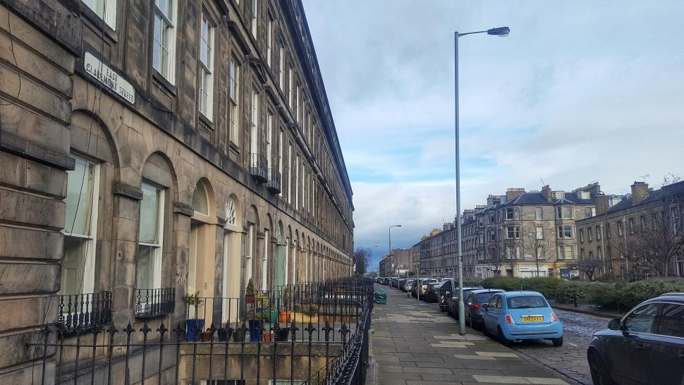 East Claremont Street, Edinburgh (copyright Simon MacMichael)