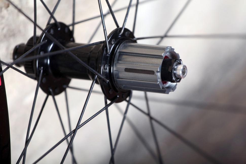 Edco Roches Disc Brake Tubeless Ready wheelset - rear hub.jpg
