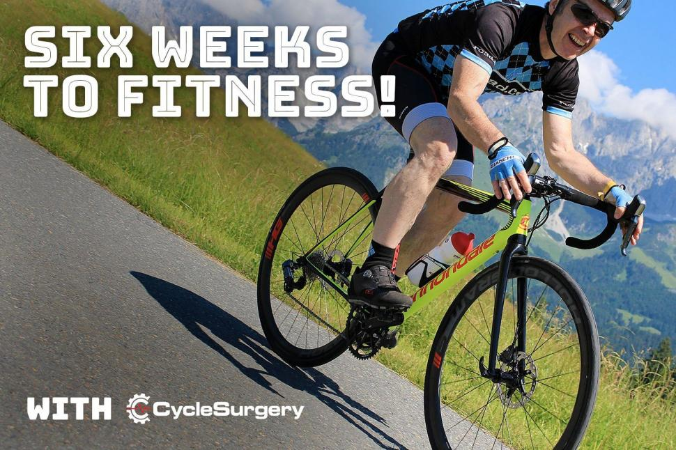 Six weeks to fitness with Cyclesurgery - week 3