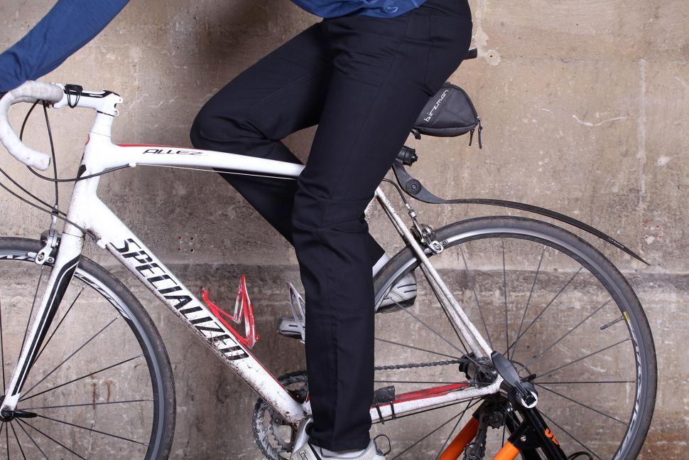 Fox Wilson Mens Black Preston Logo Jeans - riding.jpg